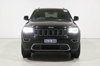 2017 Jeep Grand Cherokee WK MY18 Limited (4x4) Black 8 Speed Automatic Wagon.