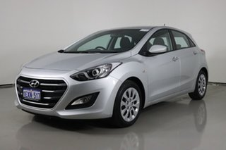 2015 Hyundai i30 GD4 Series 2 Active Silver 6 Speed Automatic Hatchback.