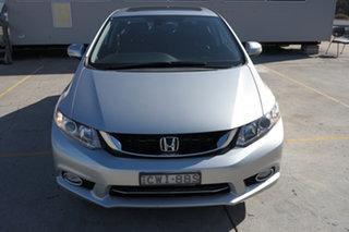 2014 Honda Civic 9th Gen Ser II MY13 Sport Silver 5 Speed Sports Automatic Sedan.