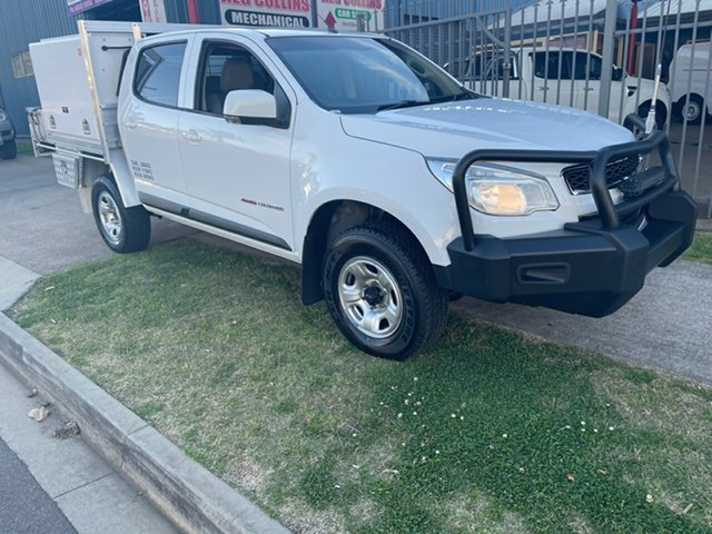 Used Holden Colorado RG MY16 LS (4x4) Toowoomba, 2016 Holden Colorado RG MY16 LS (4x4) White 6 Speed Automatic Crew Cab Chassis