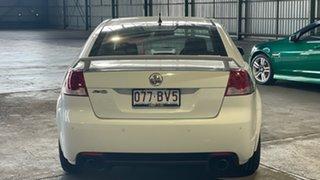 2009 Holden Commodore VE MY09.5 SV6 White 5 Speed Sports Automatic Sedan.