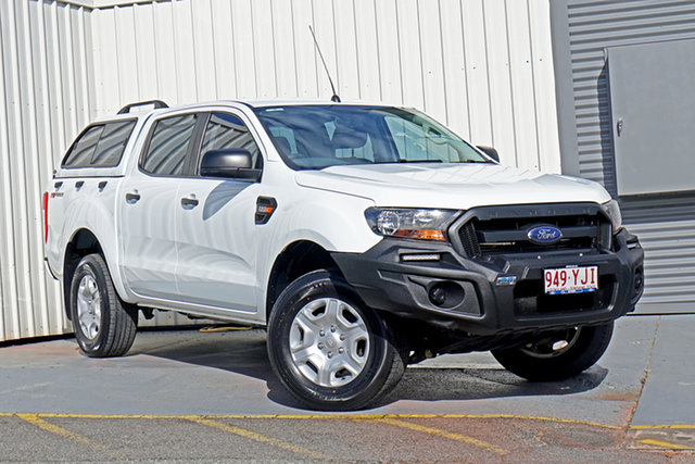 Used Ford Ranger PX MkII XL Hi-Rider Springwood, 2016 Ford Ranger PX MkII XL Hi-Rider White 6 Speed Sports Automatic Utility