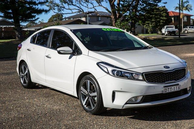 Used Kia Cerato YD MY18 Sport+ Port Macquarie, 2017 Kia Cerato YD MY18 Sport+ Clear White 6 Speed Sports Automatic Sedan