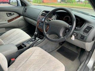 2002 Mitsubishi Verada KJ EI Silver 4 Speed Auto Sports Mode Sedan
