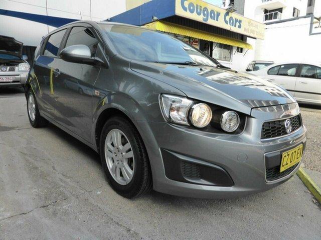 Used Holden Barina TM MY13 CD Southport, 2012 Holden Barina TM MY13 CD Grey 5 Speed Manual Hatchback