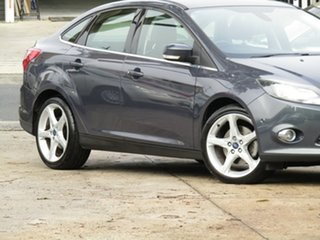 2011 Ford Focus LW Titanium PwrShift Active Grey 6 Speed Sports Automatic Dual Clutch Sedan.