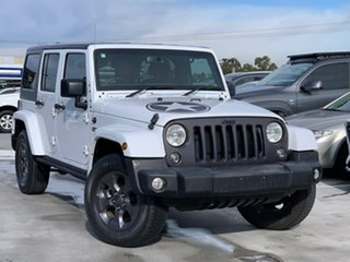 2018 Jeep Wrangler JK MY18 Freedom White 5 Speed Automatic Softtop.