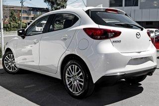 2021 Mazda 2 DJ2HAA G15 SKYACTIV-Drive Evolve White 6 Speed Sports Automatic Hatchback