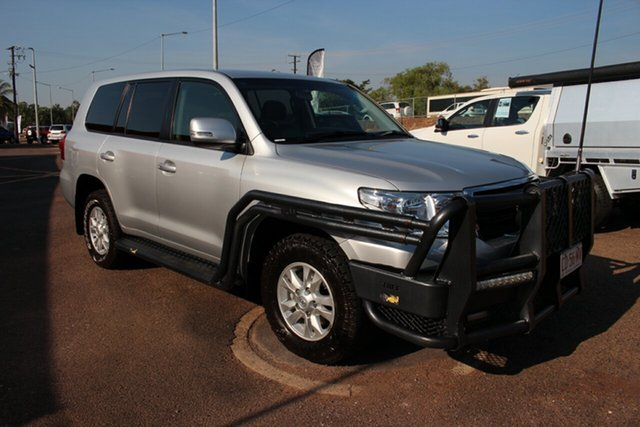Pre-Owned Toyota Landcruiser VDJ200R MY13 GXL Darwin, 2015 Toyota Landcruiser VDJ200R MY13 GXL Silver Pearl 6 Speed Sports Automatic Wagon