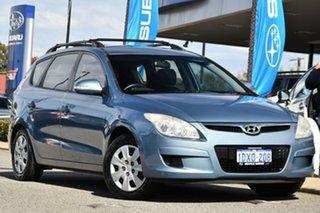 2009 Hyundai i30 FD MY09 SX cw Wagon Blue 4 Speed Automatic Wagon.