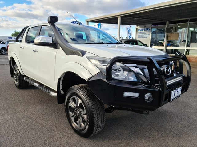 Used Mazda BT-50 GT Epsom, 2016 Mazda BT-50 GT White 6 Speed Automatic Dual Cab