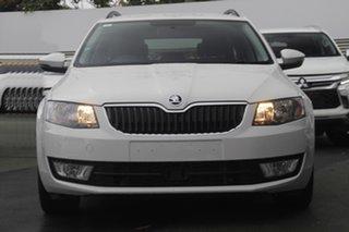 2016 Skoda Octavia NE MY16 Ambition DSG 110TSI White 7 Speed Sports Automatic Dual Clutch Wagon.