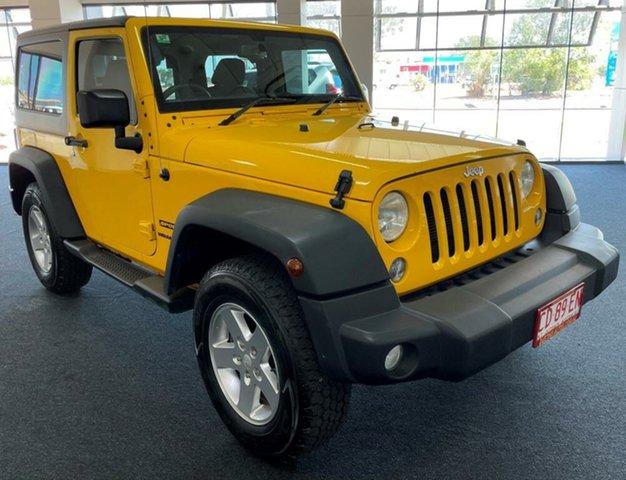 Used Jeep Wrangler JK MY2016 Sport Winnellie, 2015 Jeep Wrangler JK MY2016 Sport Yellow 5 Speed Automatic Softtop