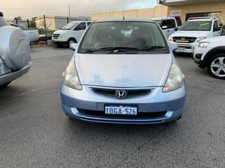 2002 Honda Jazz VTi Blue 5 Speed Manual Hatchback.