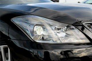 2011 Toyota Crown GRS204 Athlete Black 6 Speed Automatic Sedan.