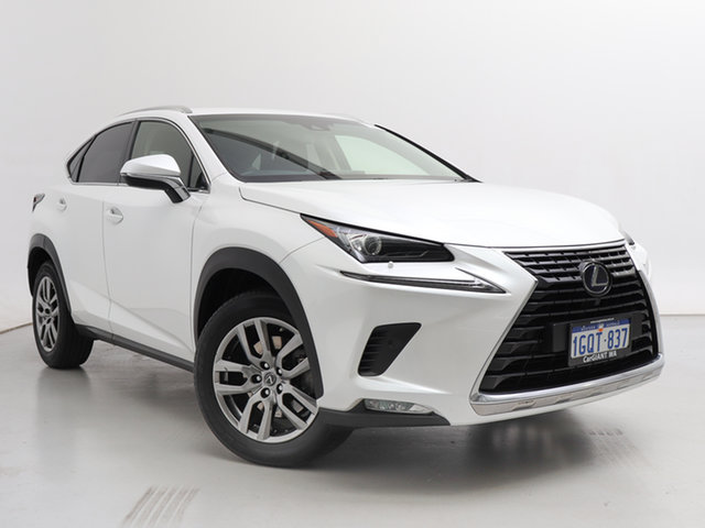 Used Lexus NX300H AYZ15R MY17 Facelift Luxury Hybrid (AWD), 2018 Lexus NX300H AYZ15R MY17 Facelift Luxury Hybrid (AWD) White 6 Speed CVT Auto Sequential Wagon