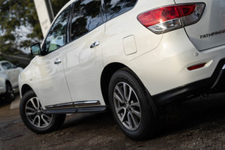 2015 Nissan Pathfinder R52 MY15 ST-L X-tronic 4WD White 1 Speed Constant Variable Wagon
