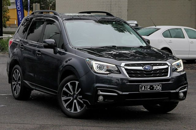Used Subaru Forester S4 MY16 2.5i-S CVT AWD South Melbourne, 2016 Subaru Forester S4 MY16 2.5i-S CVT AWD Dark Grey 6 Speed Constant Variable Wagon