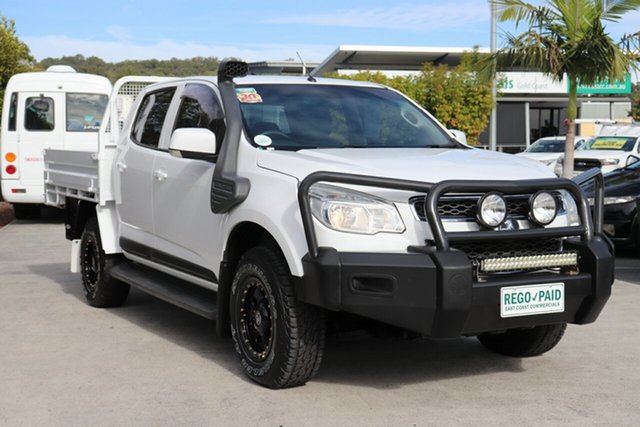 Used Holden Colorado RG MY16 LS Crew Cab 4x2 Robina, 2016 Holden Colorado RG MY16 LS Crew Cab 4x2 Summit White 6 speed Automatic Cab Chassis