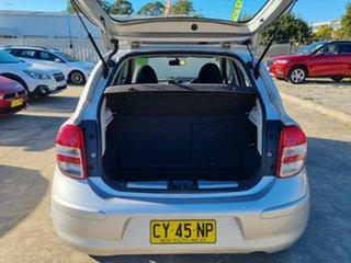 2011 Nissan Micra K13 ST-L Silver 4 Speed Automatic Hatchback