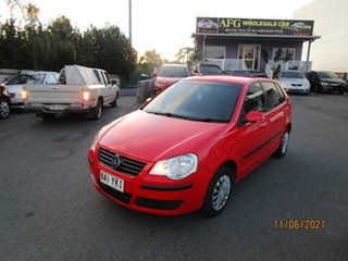 2006 Volkswagen Polo 9N MY06 Upgrade Match Red 4 Speed Automatic Hatchback.