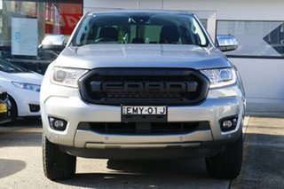 2020 Ford Ranger PX MkIII 2020.25MY XLT Silver 6 Speed Sports Automatic Super Cab Pick Up
