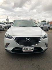 2015 Mazda CX-3 DK2WSA Maxx SKYACTIV-Drive White 6 Speed Sports Automatic Wagon.