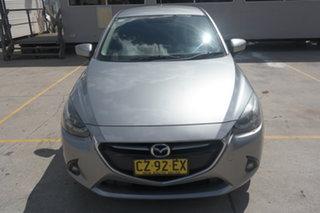 2015 Mazda 2 DJ2HA6 Genki SKYACTIV-MT Grey 6 Speed Manual Hatchback.