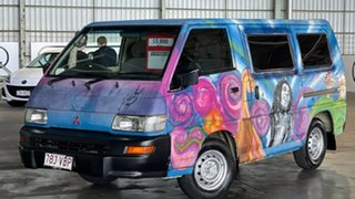 2007 Mitsubishi Express SJ M07 Window SWB Blue 5 Speed Manual Van.