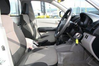 2013 Mitsubishi Triton MN MY13 GL 4x2 White Solid 5 Speed Manual Cab Chassis