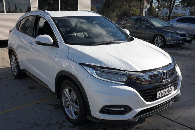 Used Honda HR-V MY19 VTi-LX Maryville, 2019 Honda HR-V MY19 VTi-LX White 1 Speed Constant Variable Hatchback