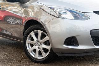 2009 Mazda 2 DE10Y1 Maxx Aluminium 5 Speed Manual Hatchback.