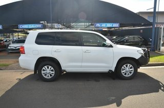 2015 Toyota Landcruiser VDJ200R MY16 GXL (4x4) White 6 Speed Automatic Wagon.