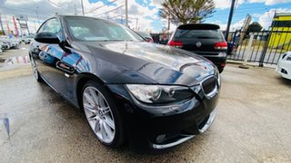 2008 BMW 3 Series E92 MY08 325i Steptronic Black 6 Speed Sports Automatic Coupe.