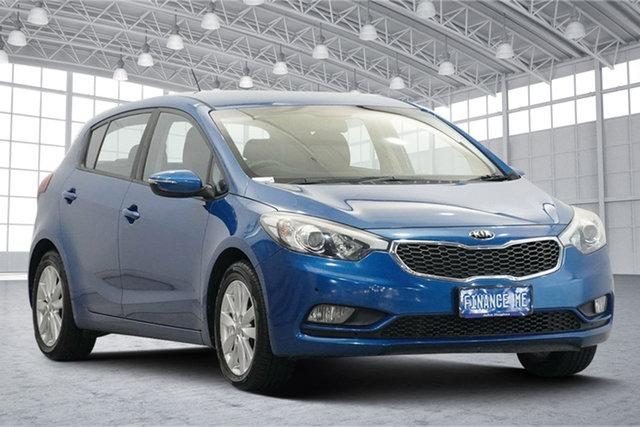 Used Kia Cerato YD MY15 S Premium Victoria Park, 2014 Kia Cerato YD MY15 S Premium Blue 6 Speed Sports Automatic Hatchback