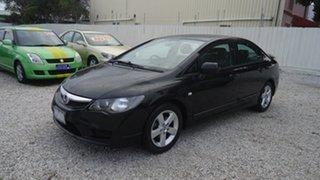 2009 Honda Civic 8th Gen MY09 VTi-L Black 5 Speed Automatic Sedan