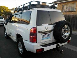 2012 Nissan Patrol GU VII ST (4x4) White 5 Speed Manual Wagon