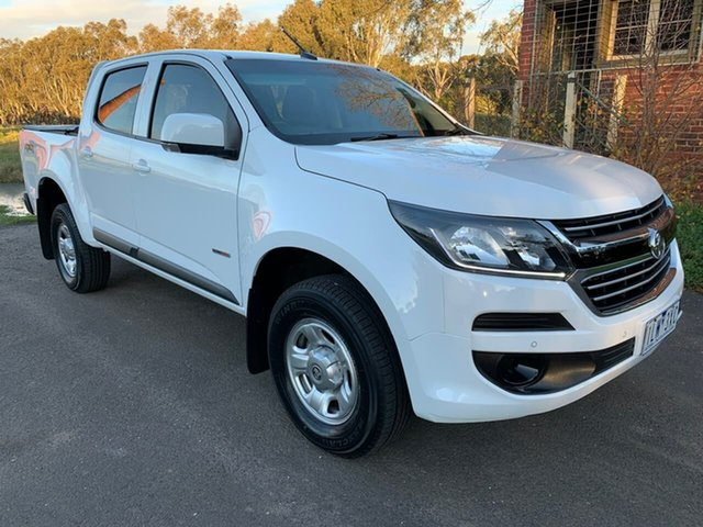 Used Holden Colorado RG LS Geelong, 2017 Holden Colorado RG LS White Sports Automatic Utility