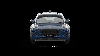 2021 Ford Puma JK 2021.25MY Puma Blazer Blue 7 Speed Sports Automatic Dual Clutch Wagon