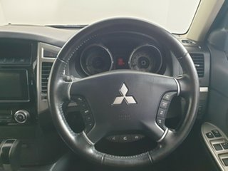 2015 Mitsubishi Pajero NX MY15 GLX Cool Silver 5 Speed Sports Automatic Wagon.