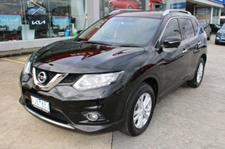 2016 Nissan X-Trail T32 ST-L X-tronic 2WD Black/Grey 7 Speed Constant Variable Wagon.