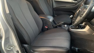 2015 Isuzu D-MAX TF MY15 LS-M HI-Ride (4x4) Silver 5 Speed Manual Crew Cab Utility