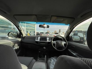 2013 Toyota Hilux KUN26R MY12 SR5 Xtra Cab Grey 5 Speed Manual Utility