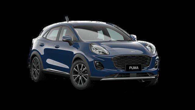 Demo Ford Puma JK 2021.25MY Puma Rutherford, 2021 Ford Puma JK 2021.25MY Puma Blazer Blue 7 Speed Sports Automatic Dual Clutch Wagon