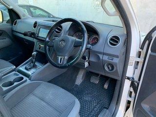 2012 Volkswagen Amarok 2H MY13 TDI420 4Motion Perm Highline White 8 Speed Automatic Utility