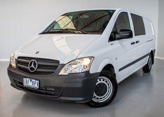 2014 Mercedes-Benz Vito 639 MY14 113CDI LWB White 5 Speed Automatic Van.