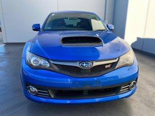 2009 Subaru Impreza G3 MY09 WRX AWD STi Blue 6 Speed Manual Hatchback.