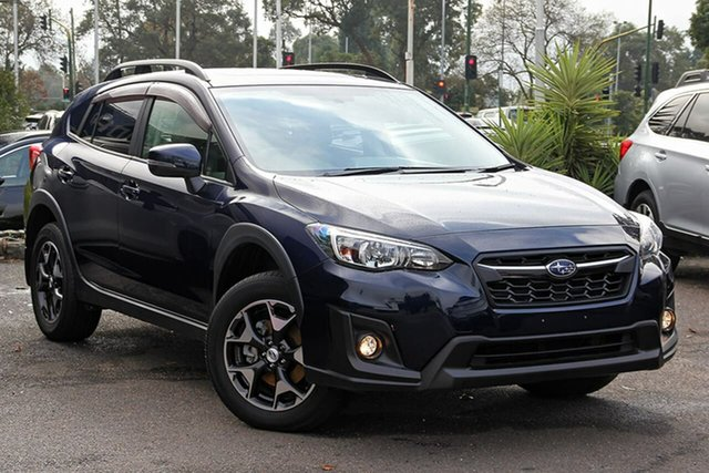Used Subaru XV G5X MY18 2.0i Premium Lineartronic AWD Nunawading, 2018 Subaru XV G5X MY18 2.0i Premium Lineartronic AWD Blue 7 Speed Constant Variable Wagon