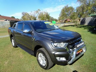 2017 Ford Ranger PX MkII 2018.00MY XLT Double Cab Grey 6 Speed Sports Automatic Utility