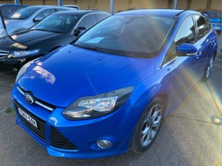 2013 Ford Focus LW MkII Sport PwrShift Blue 6 Speed Sports Automatic Dual Clutch Hatchback.